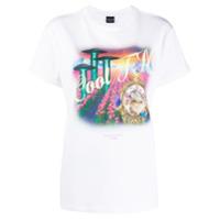 Cool T.m Camiseta Mangas Curtas Com Estampa De Logo - Branco