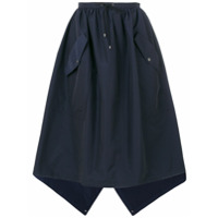 Kenzo Saia Assimétrica - Azul