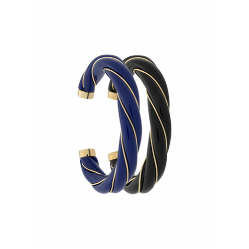 Imagem de Aurelie Bidermann Conjunto de pulseiras 'Diana' - Azul