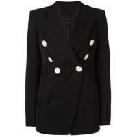 Petar Petrov Jewel Double Breasted Tailored Jacket - Preto