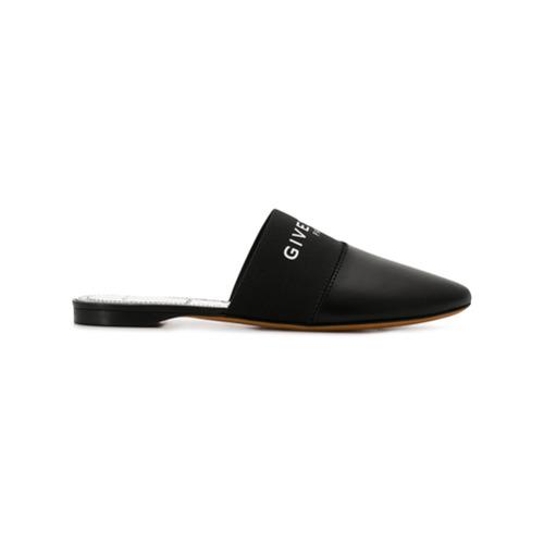 Imagem de Givenchy Bedford slippers - Preto