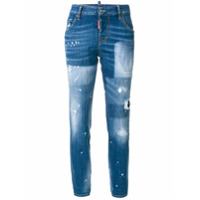 Dsquared2 Calça Jeans 'cool Girl' - Azul