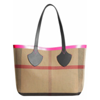 Burberry Bolsa Tote Dupla Face 'the Medium Giant' - Preto