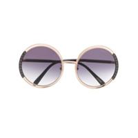 Chopard Óculos De Sol 'schc79' - Dourado