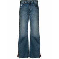 Emporio Armani Calça Jeans Flare Cintura Média - Azul