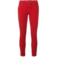 Jacob Cohen Calça Jeans Cropped 'kimberly' - Vermelho