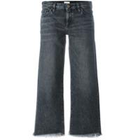 Simon Miller Calça Jeans Cropped - Cinza