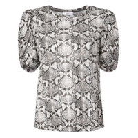 A.l.c. Snakeskin Effect Top - Marrom