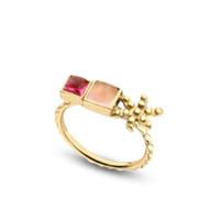 Gaya Anel Color For Life De Ouro 18K - Dourado