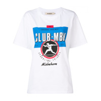 Misbhv Camiseta Com Estampa De Logo - Branco