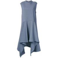 Marni Vestido assimétrico - Cinza
