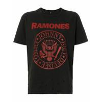 R13 Ramones Boy Cotton Short-Sleeved T-Shirt - Preto