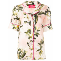 F.r.s For Restless Sleepers Floral Shirt - Rosa