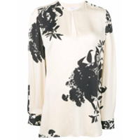 Equipment Blusa Com Estampa Floral - Neutro