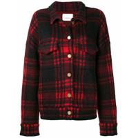 Laneus Checked Jacket - Vermelho