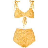 Sian Swimwear Short De Natação Com Estampa Daisy - Amarelo