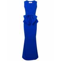 Le Petite Robe Di Chiara Boni Vestido Com Detalhe De Laço - Azul