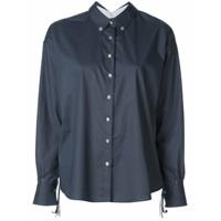 Le Sarte Pettegole Camisa Com Botões - Azul