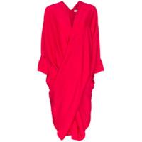 Poiret Vestido Midi - Rosa