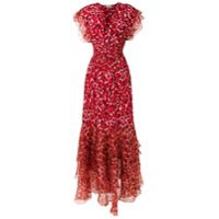 Isolda Vestido Longo 'pri' De Seds - Vermelho