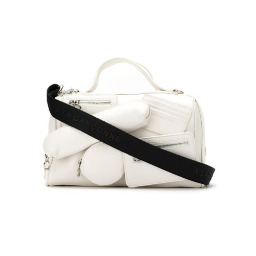 Imagem de À La Garçonne Bolsa regular com bolsos - Branco