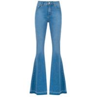 Amapô Calça Jeans Super Flare 'denver' - Azul