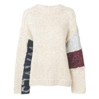 Ambush Suéter De Tricô - Neutro