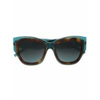 Pomellato Eyewear Óculos De Sol Quadrado - Green
