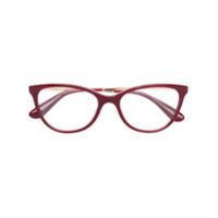 Dolce & Gabbana Eyewear Armação De Óculos Gatinho - Vermelho