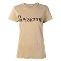 Maison Kitsuné Camiseta Com Estampa 'parisienne' - Neutro