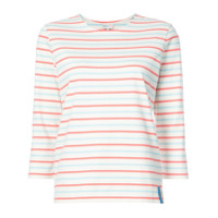 Kule Camiseta Listrada 'capitol Xx Collection' - Branco
