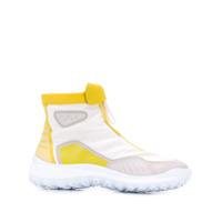 Camper Lab Ankle Boot Color Block - Amarelo