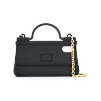 Dolce & Gabbana Capa Para Iphone X E Xs Handbag - Preto