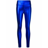 Sprwmn Calça De Couro Skinny - Azul