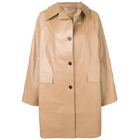 Kassl Trench Coat Oversized - Preto