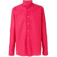 Borriello Camisa Mangas Longas - Vermelho