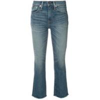 Polo Ralph Lauren Calça Jeans Bootcut Cropped - Azul