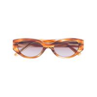 Dmy By Dmy Óculos De Sol Oval Quin Havana - Neutro