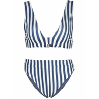 Agua By Agua Bendita Laurie Penelope Striped Bikini Set - Azul