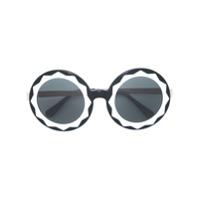 Linda Farrow Gallery Óculos De Sol Oversize - Preto