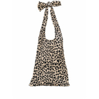 Loeffler Randall Bex Knot Shoulder Bag - Neutro