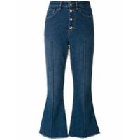 Sonia Rykiel Calça Jeans Cropped - Azul