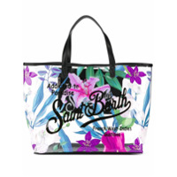 Mc2 Saint Barth Tropical Vibes Printed Tote - Neutro