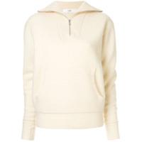G.v.g.v. Suéter Com Zíper - Branco
