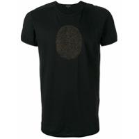 Ann Demeulemeester Camiseta Com Estampa - Preto