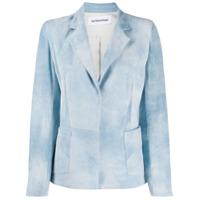 Sylvie Schimmel Saloon Suede Blazer - Azul