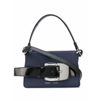 Proenza Schouler Bolsa Pequena Com Fivela E Zíper - Azul
