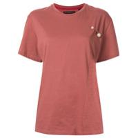 Blindness Camiseta Com Aplicações - Rosa