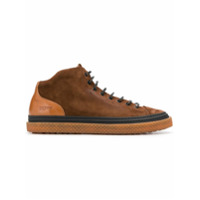 Buttero Lace-Up Hi-Top Sneakers - Marrom
