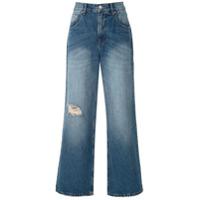Amapô Calça Jeans Pantalona Lara - Azul
